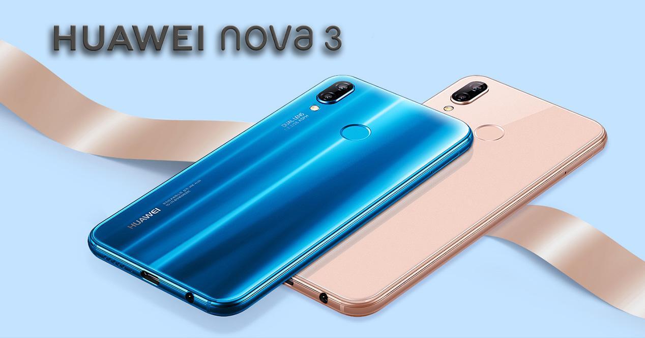 Presentación del Huawei Nova 3