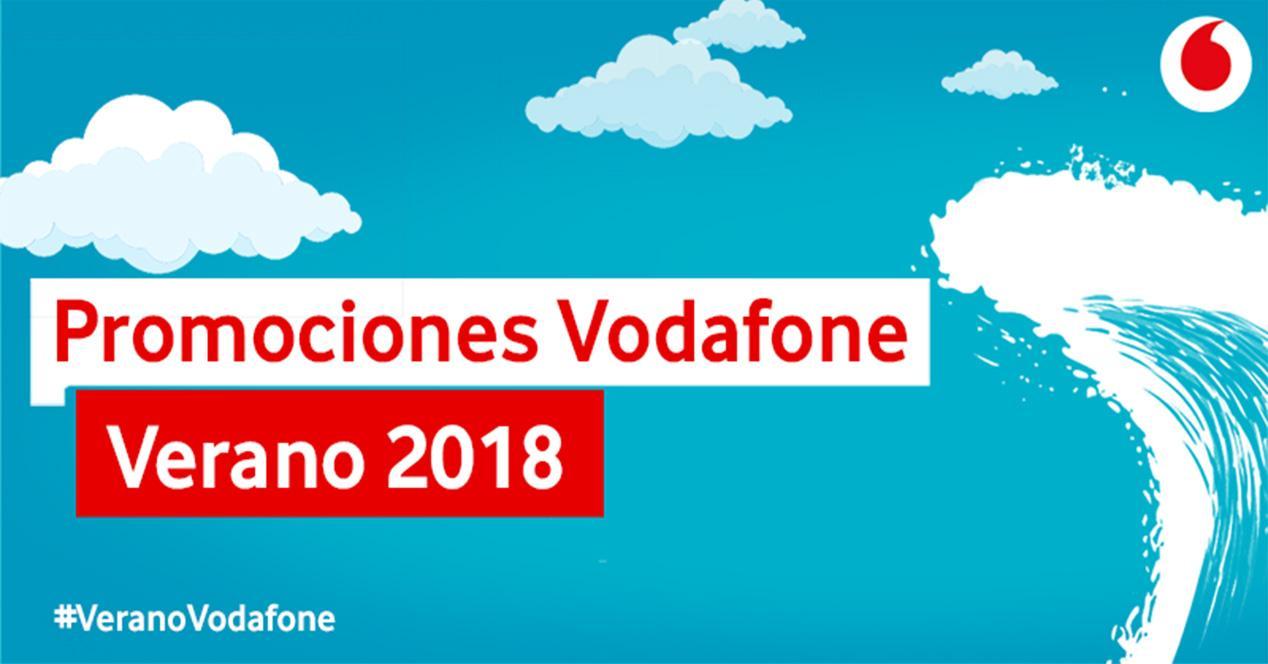 Promociones de verano de Vodafone