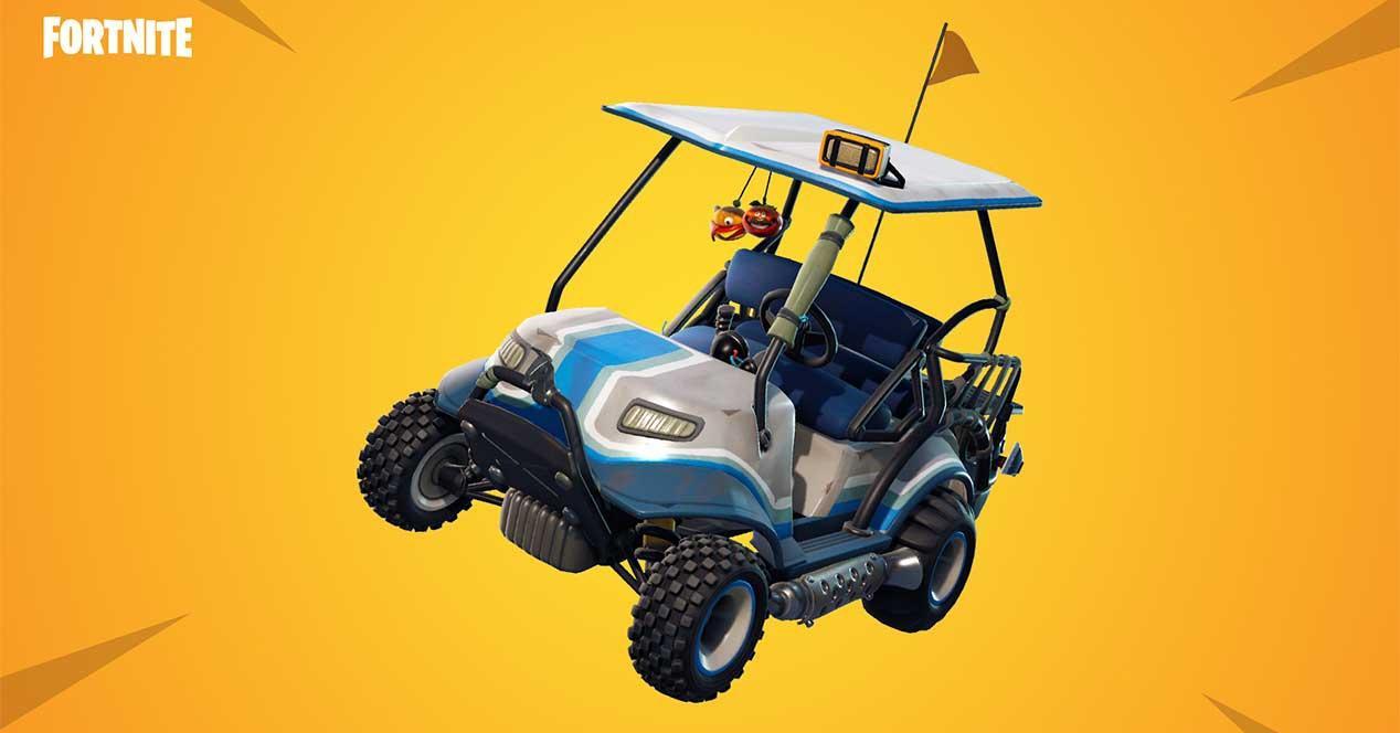 Temporada 5 de Fortnite-carrito de golf