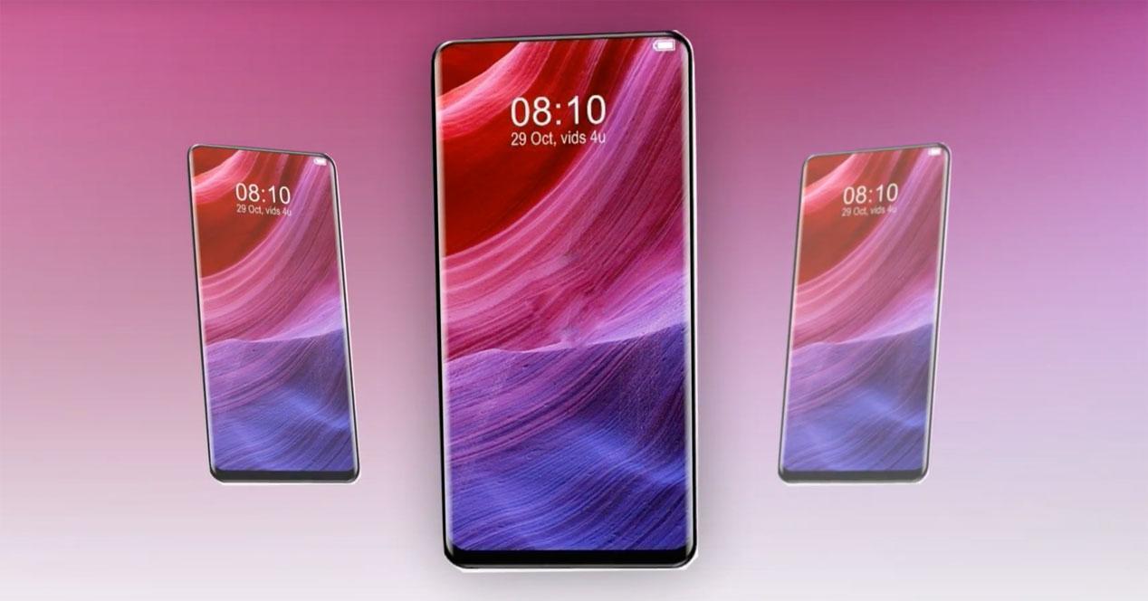 Concepto del Xiaomi Mi Mix 3