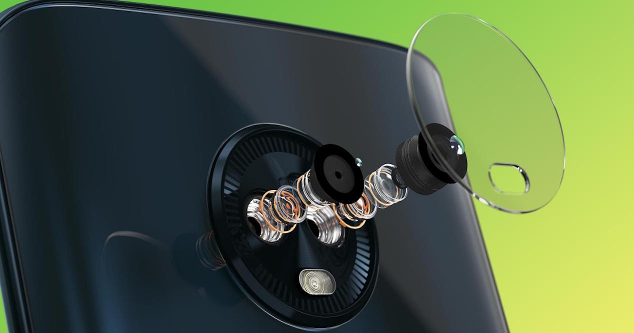 doble cámara moto g6