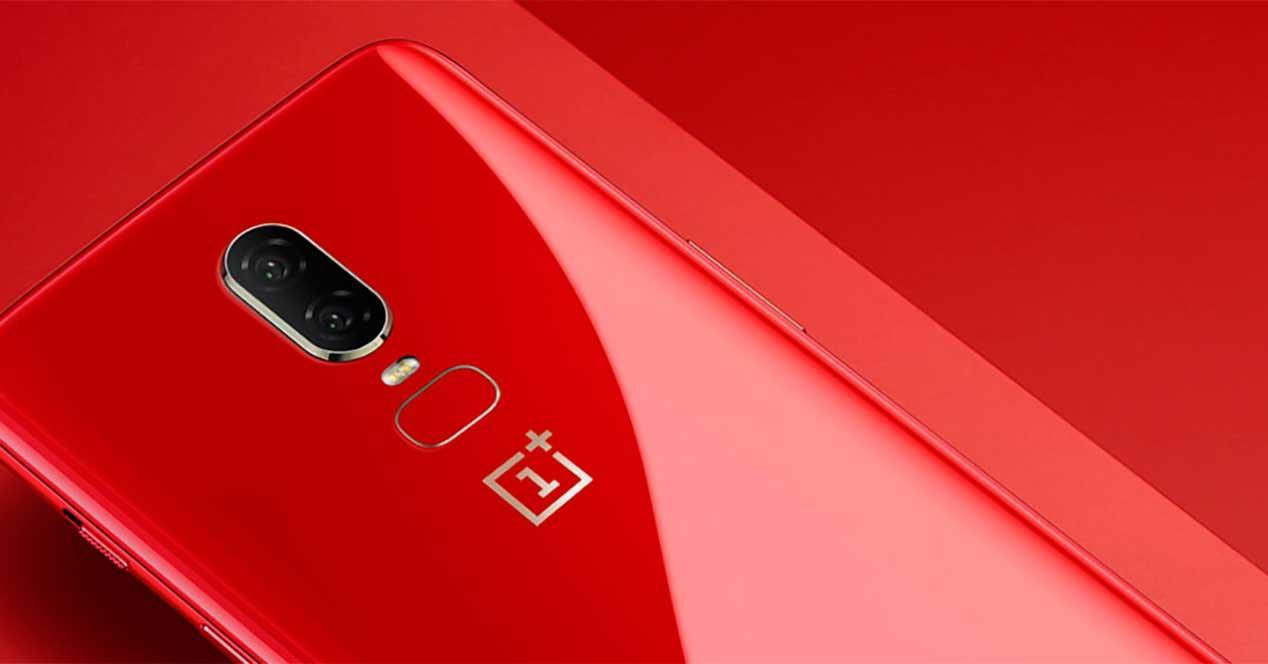 oneplus 6 rojo