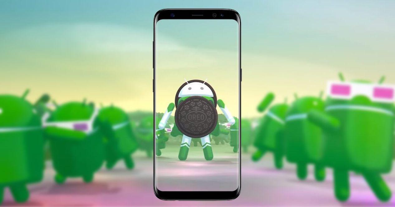 android oreo samsung
