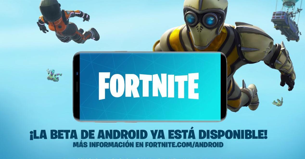 Lanzamiento oficial del Fortnite para Android