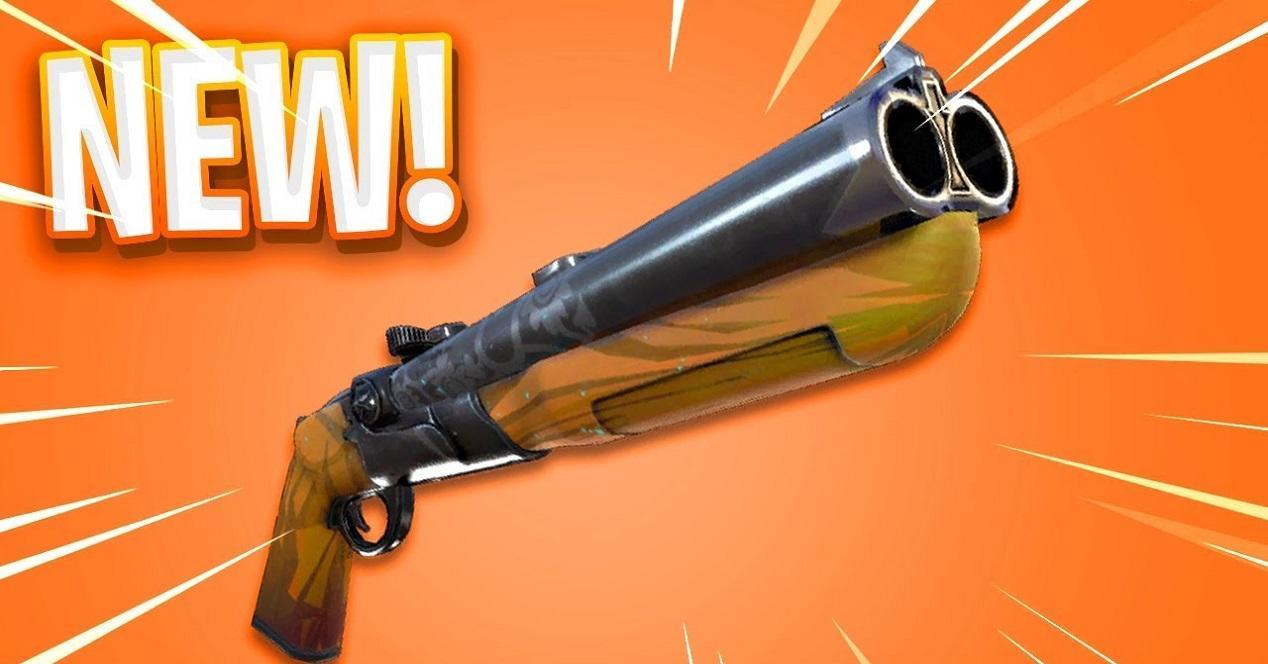 Escopeta de doble cañón en Fortnite 5.2
