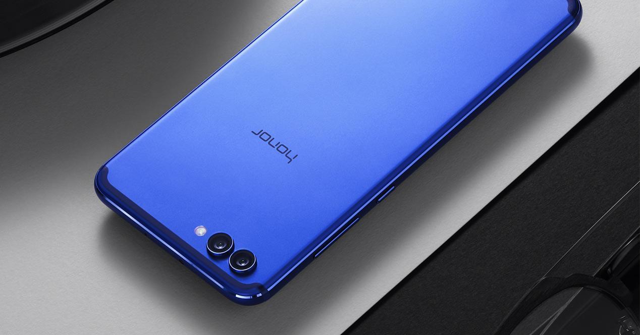 Honor View 10 en color azul
