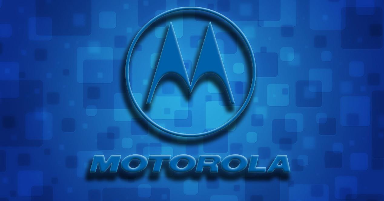 Logotipo de Motorola azul