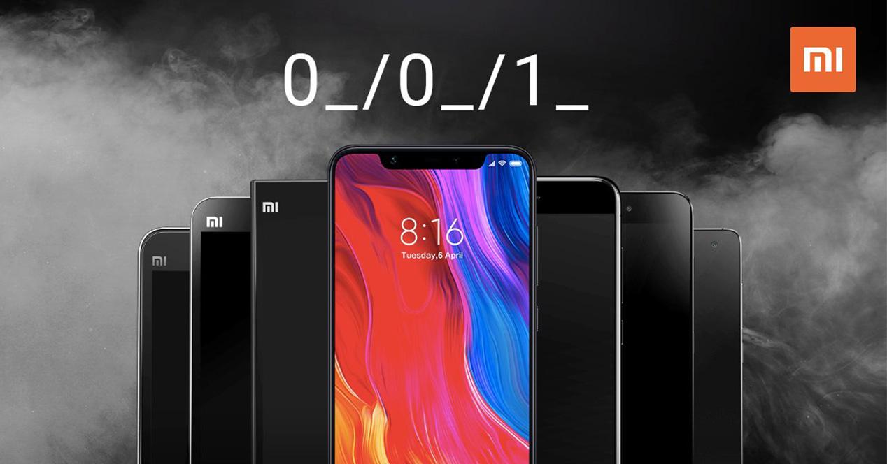 Anuncio de la fecha de presentación del Xiaomi Mi 8 en España