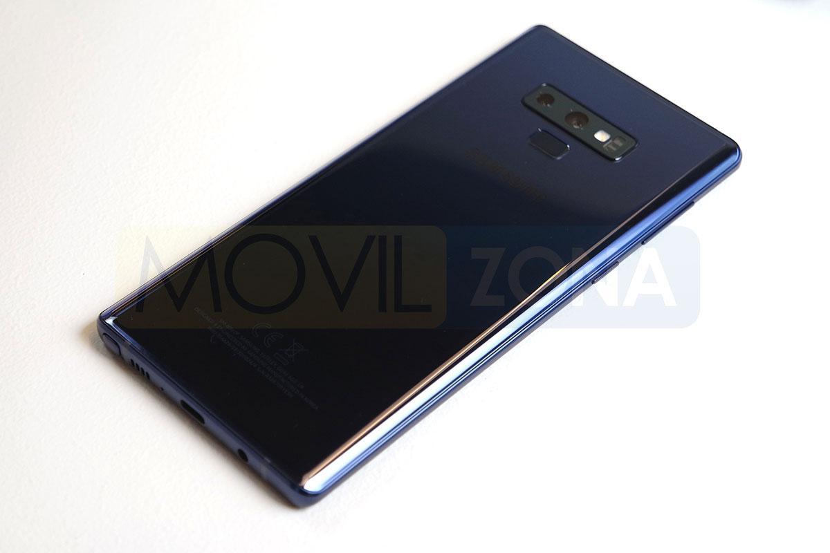 Samsung Galaxy Note 9 carcasa trasera