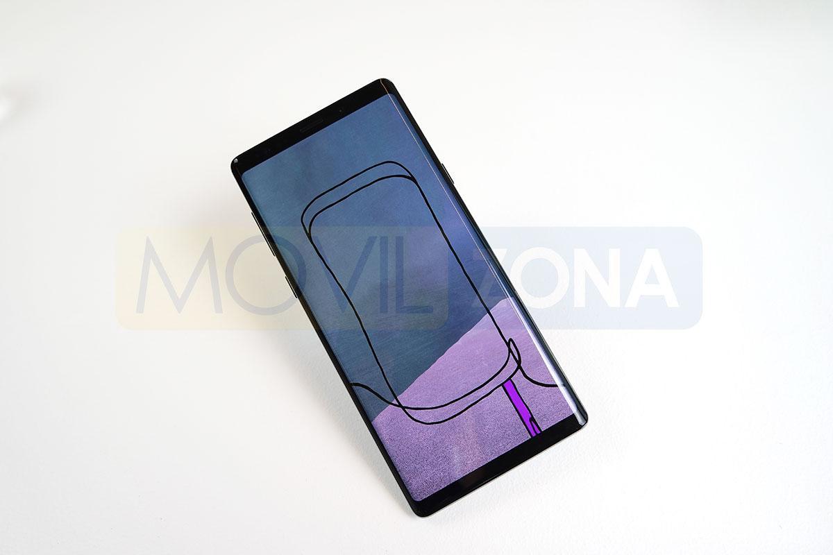 Samsung Galaxy Note 9 dibujo con S Pen