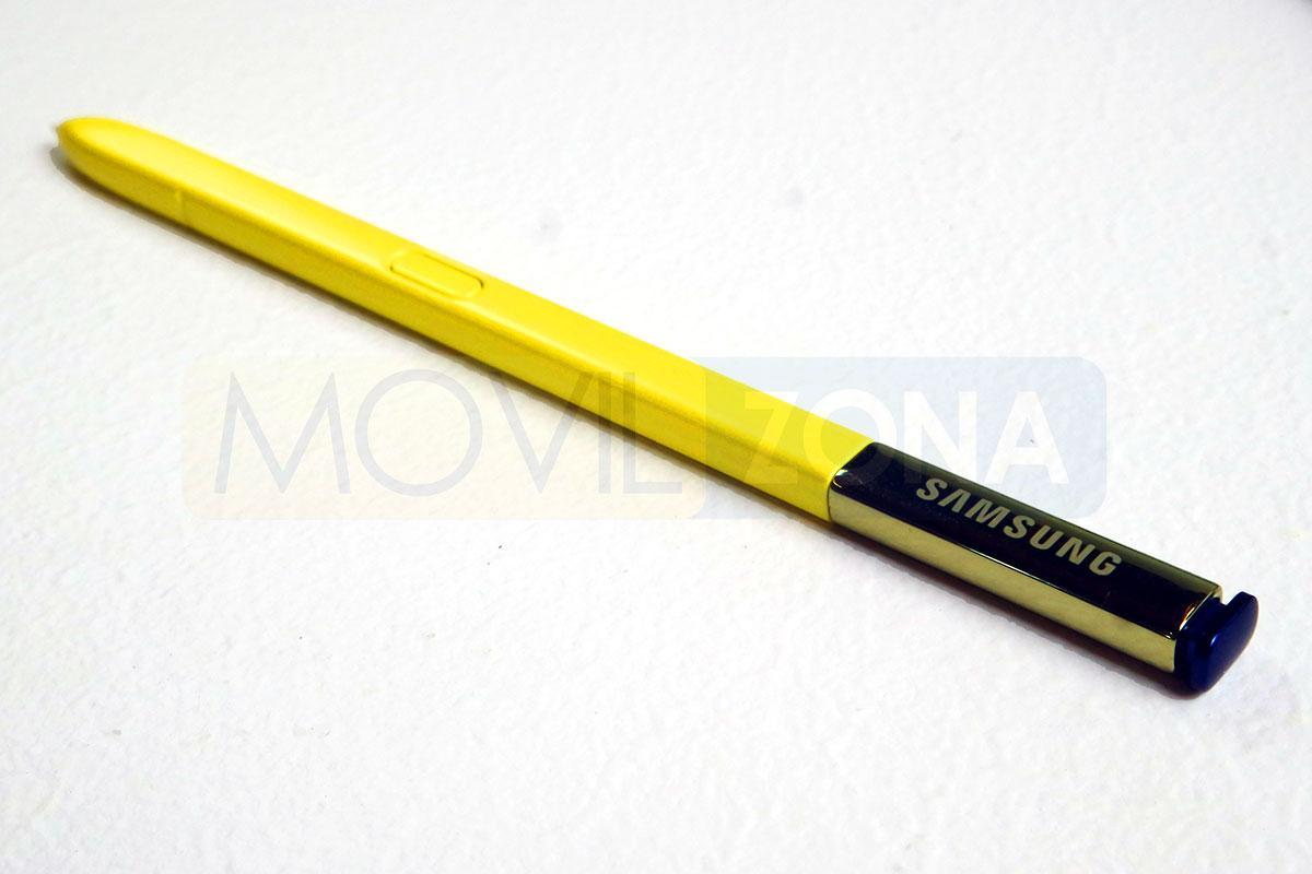 Samsung Galaxy Note 9 S Pen amarillo