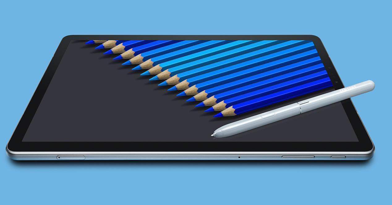 Samsung Galaxy Tab S4 con puntero S Pen