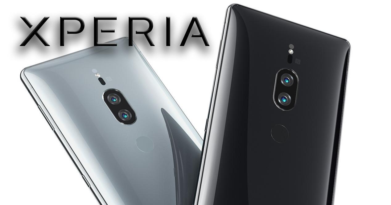 Doble cámara trasera del Sony Xperia XZ2 Premium