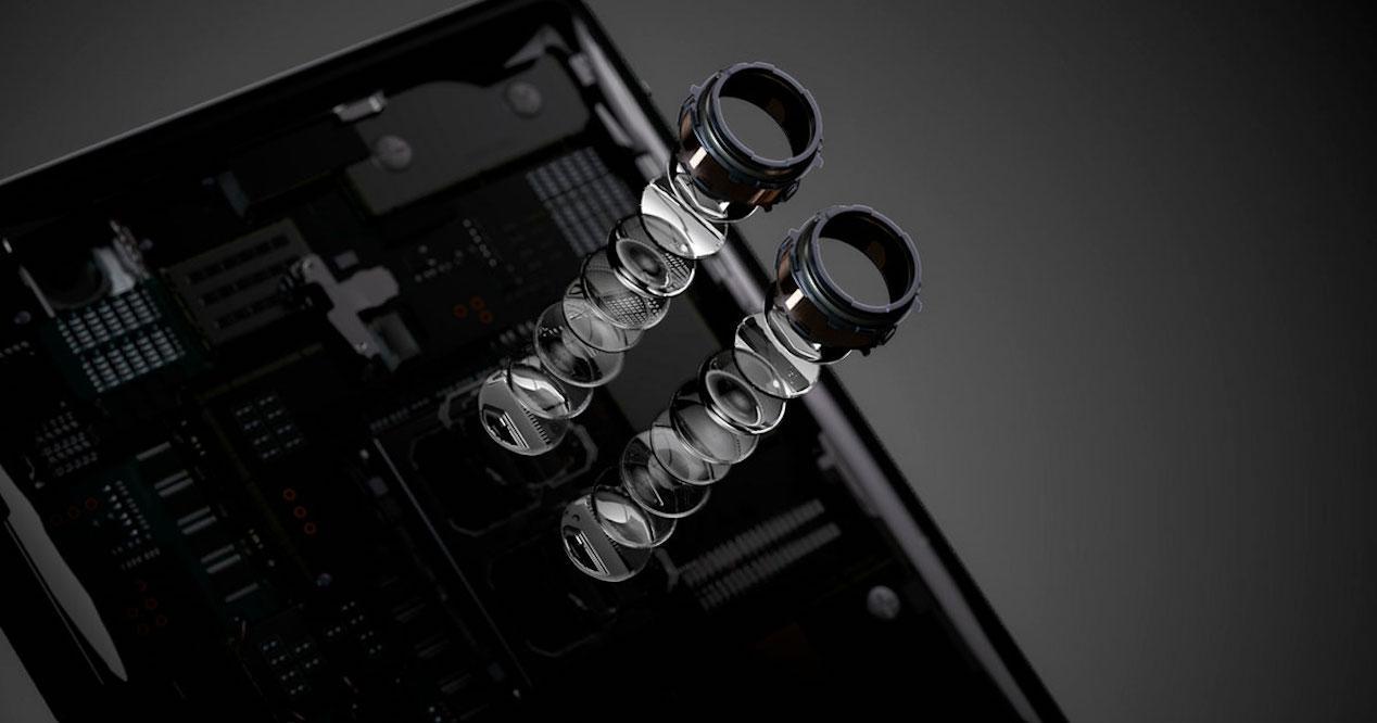 cámara del sony xperia xz2 premium