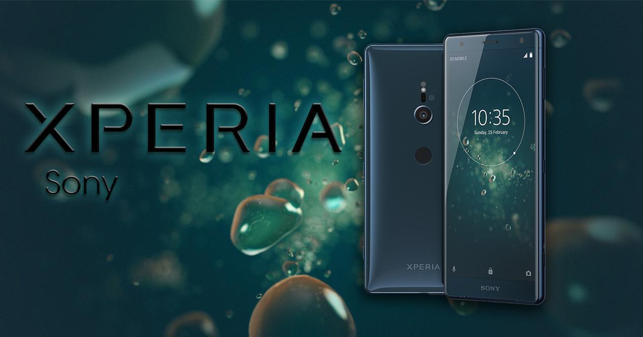 Sony Xperia XZ2 verde