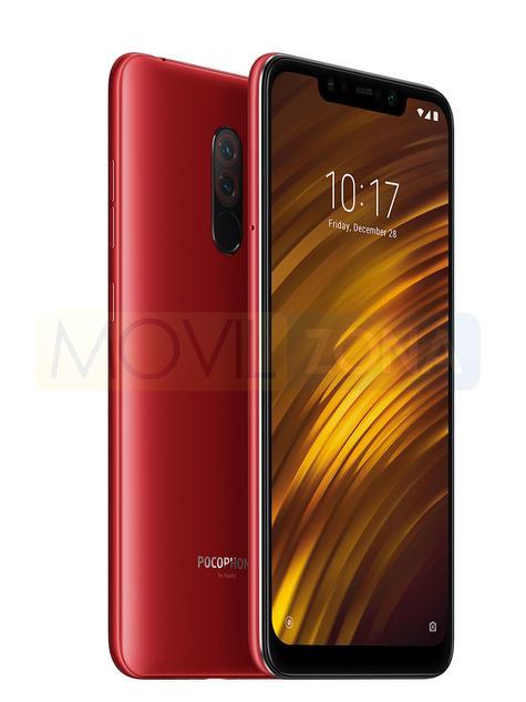 Xiaomi Pocophone F1 rojo