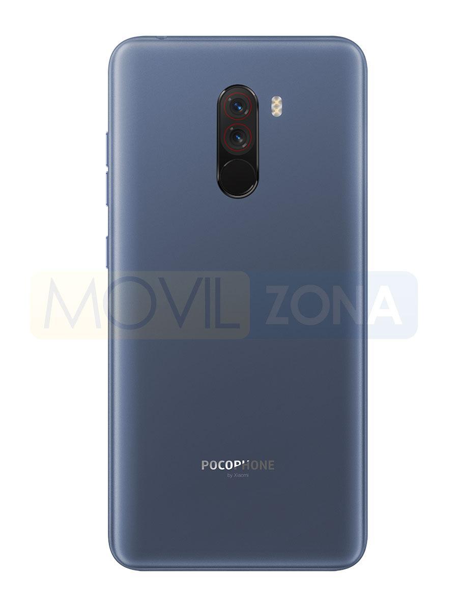 Xiaomi Pocophone F1 azul cámara trasera