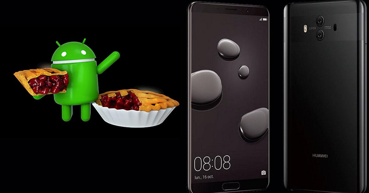 Android 9 Pie Huawei Mate 10