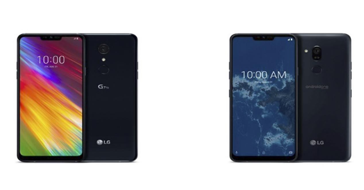 LG G7 One y G7 Fit