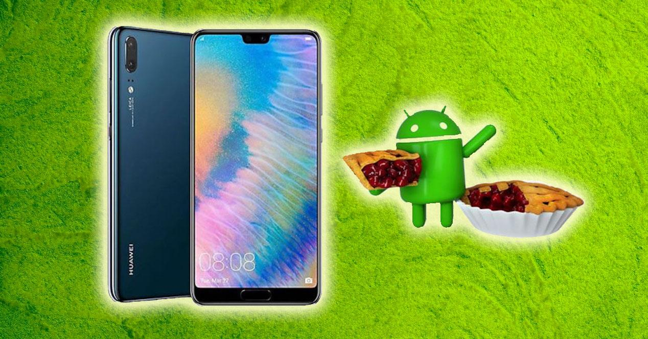 android 9 pie huawei p20