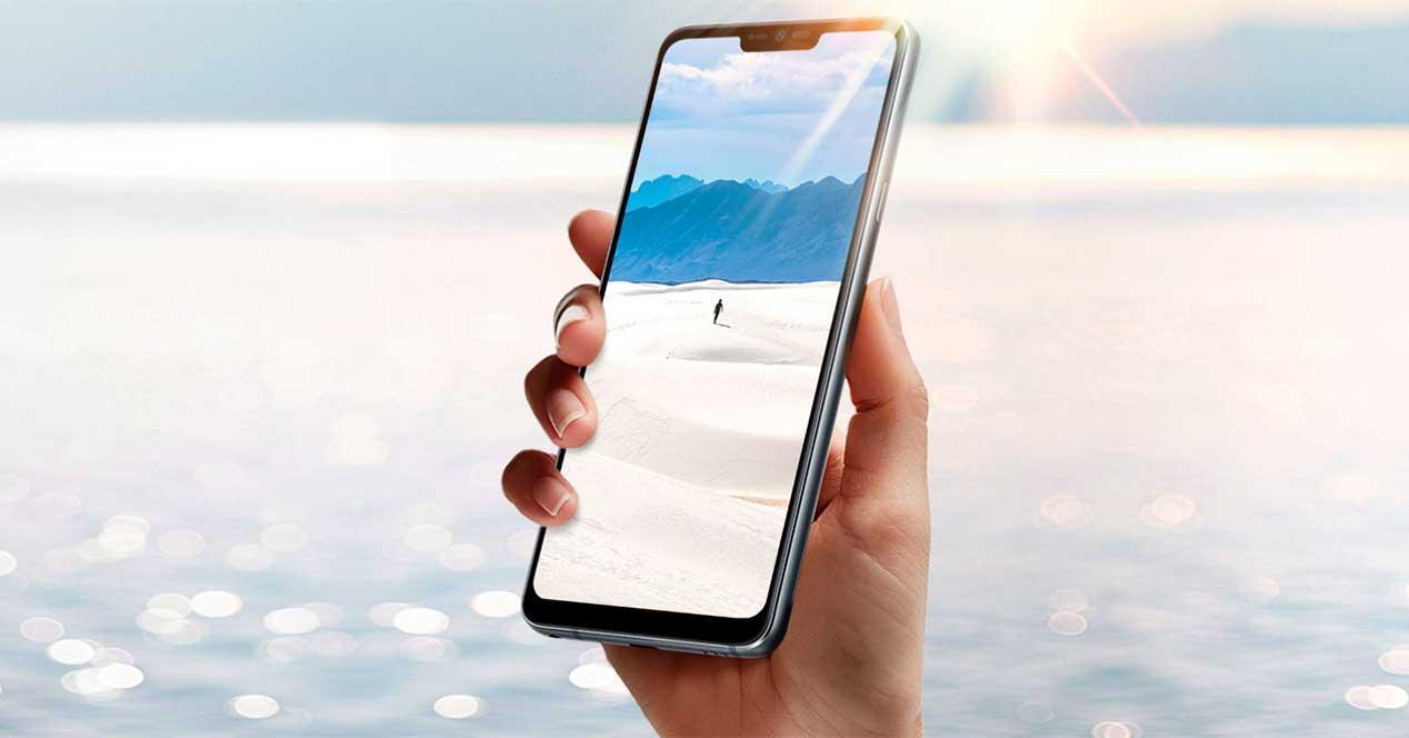 móviles con mejor pantalla