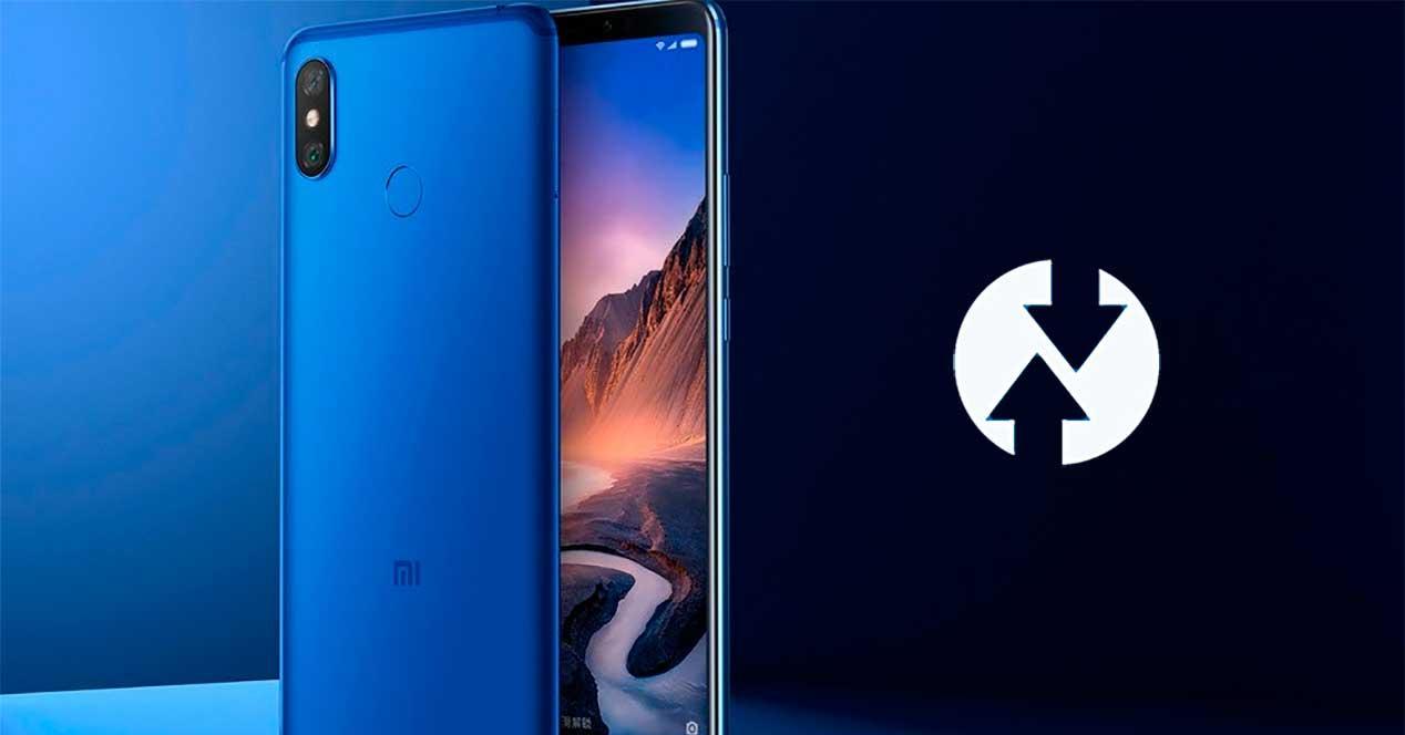 TWRP oficial para el Xiaomi Mi Max 3