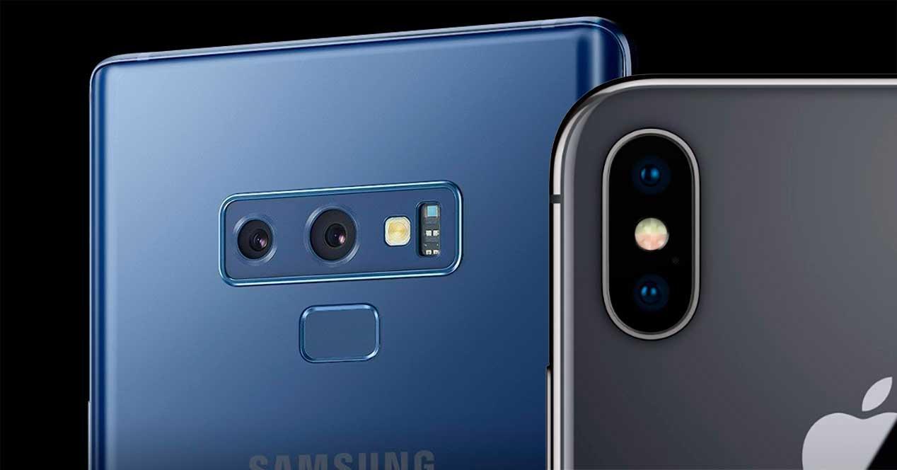 grabación de vídeo del Galaxy Note 9