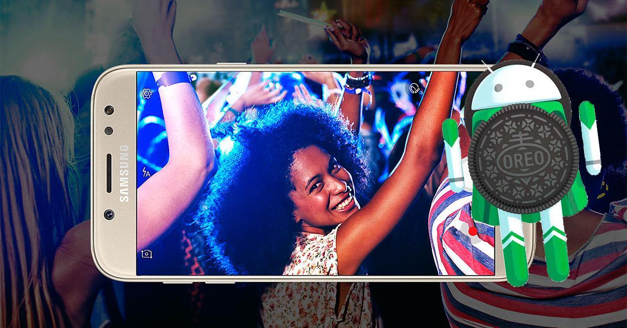 Android 8.1 Oreo para el Samsung Galaxy J5 20