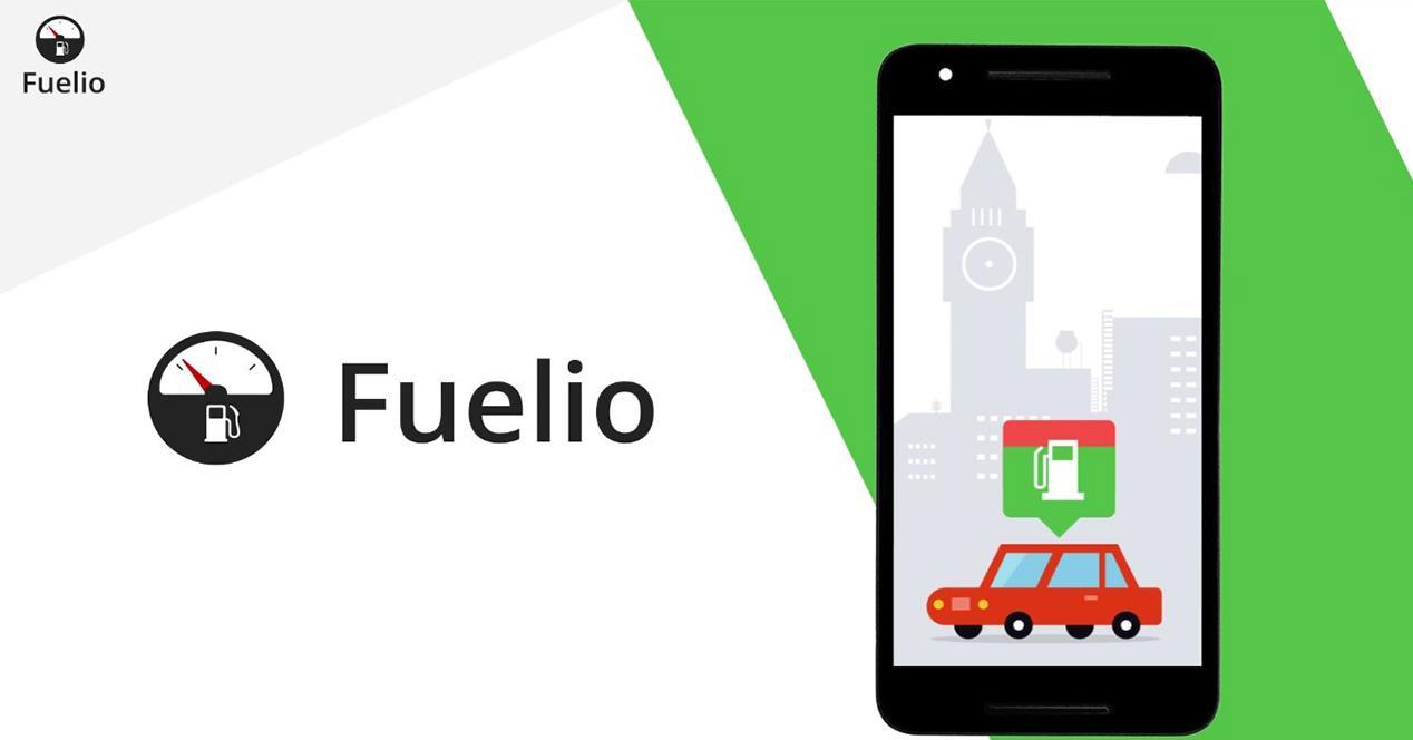 Aplicación Fuelio para Android