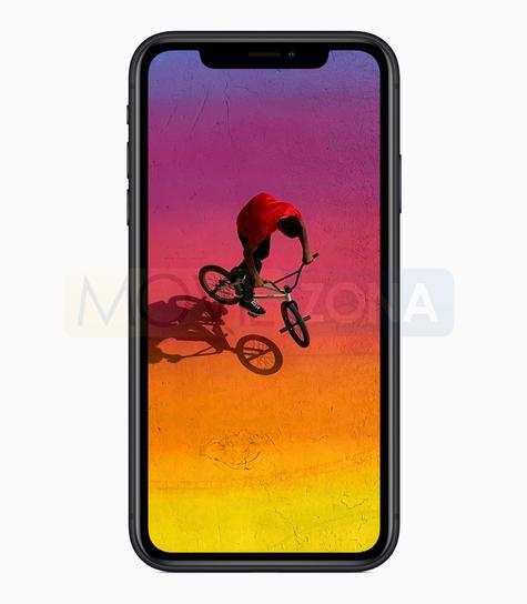 Apple iPhone XR bicicleta