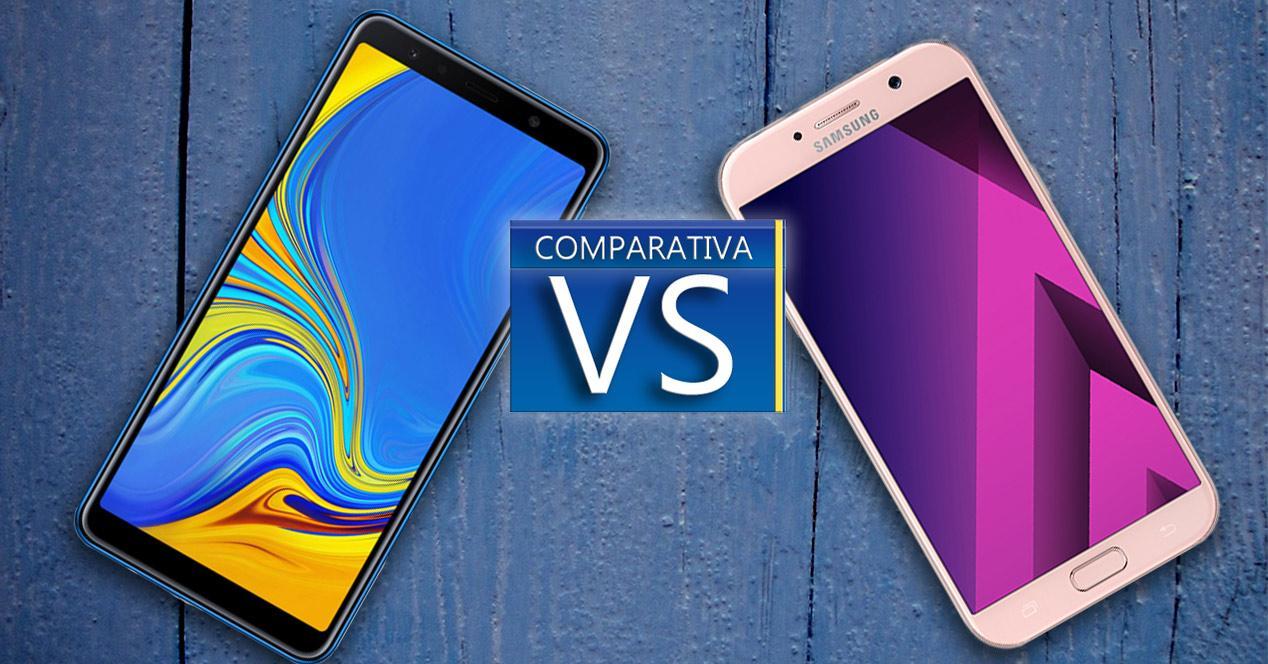 Comparativa entre smartphones Samsung