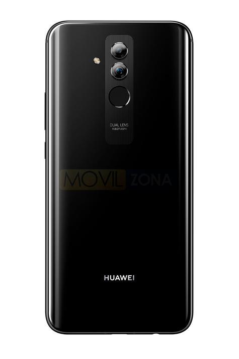 Huawei Mate 20 Lite negro doble cámara trasera