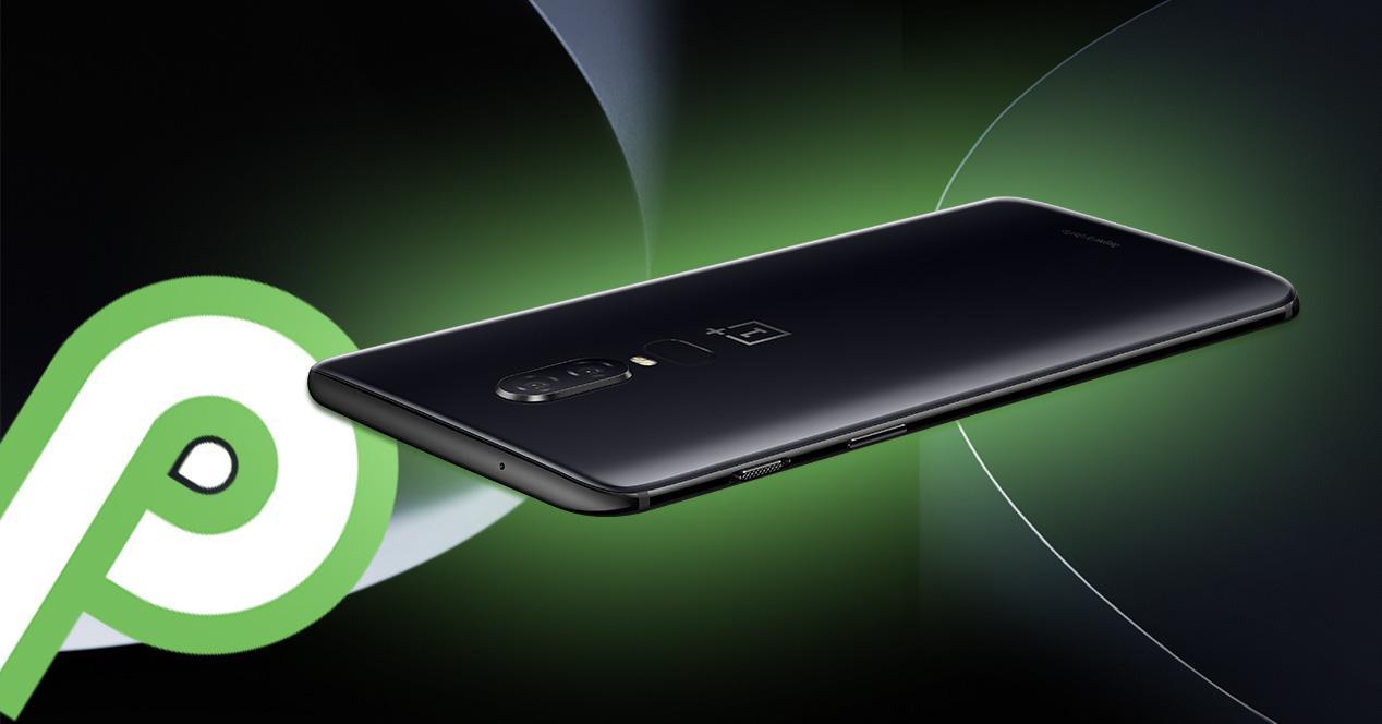 OnePlus 6 con Android 9 Pie