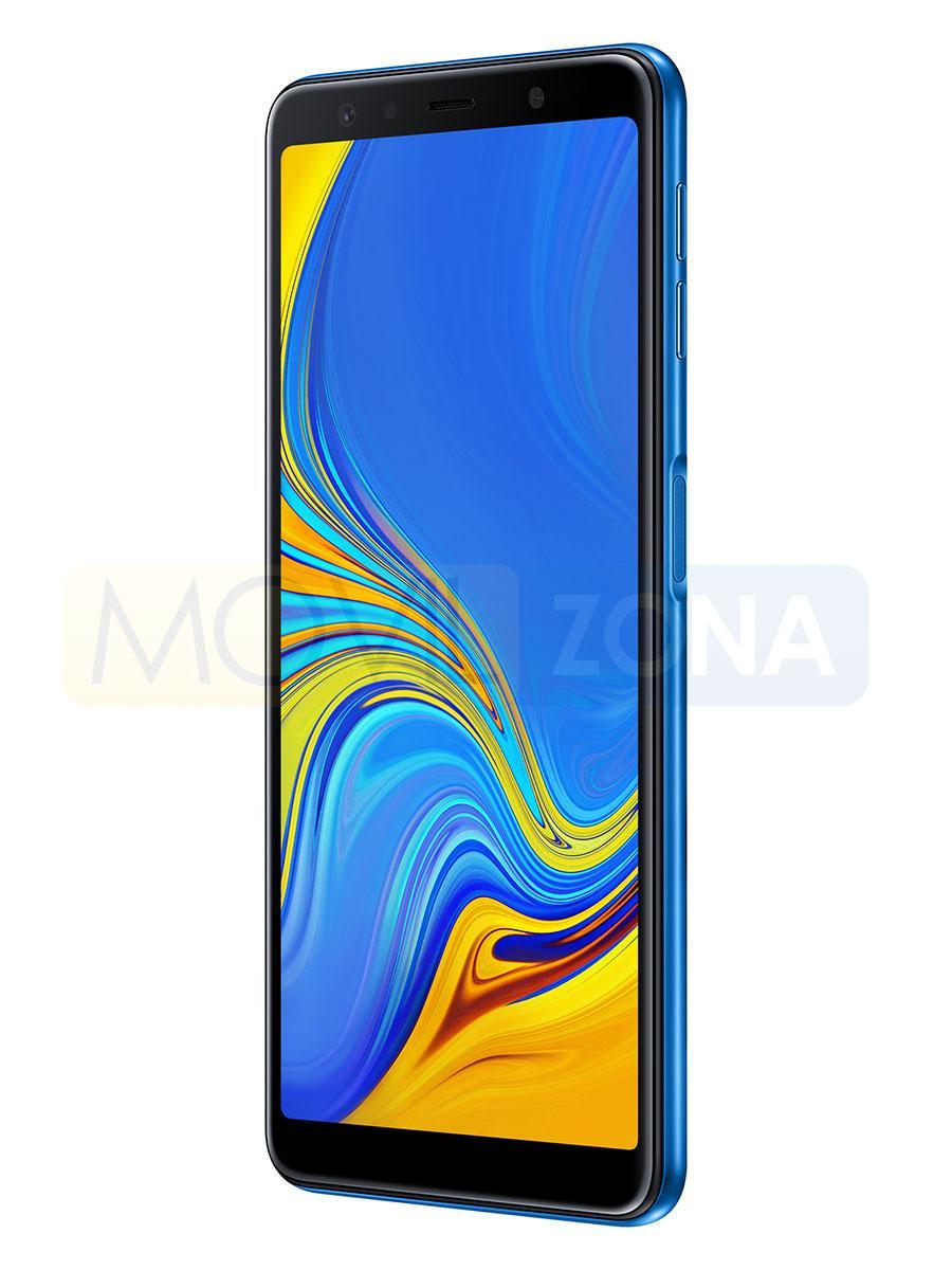 Samsung Galaxy A7 vista lateral o perfil