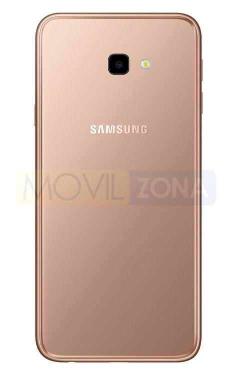 Samsung Galaxy J4 Plus dorado cámara