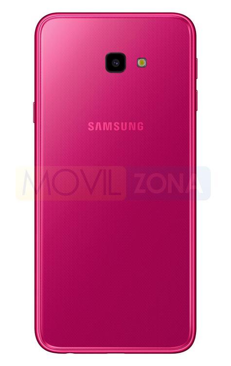 Samsung Galaxy J4 Plus rojo vista trasera