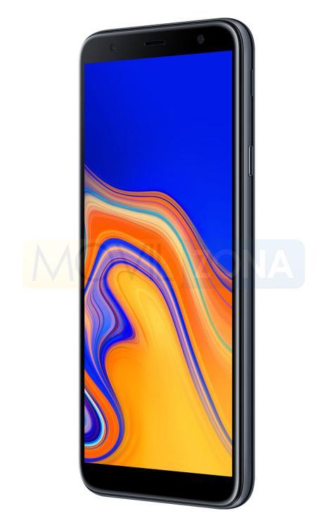 Samsung Galaxy J4 Plus negro vista lateral