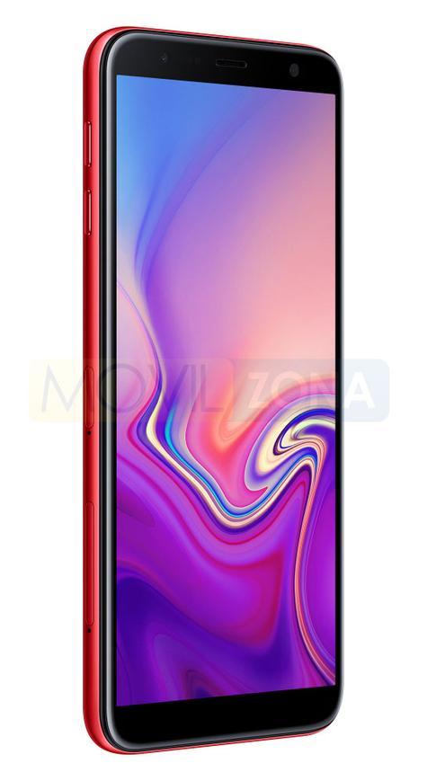 Samsung Galaxy J6+ rojo