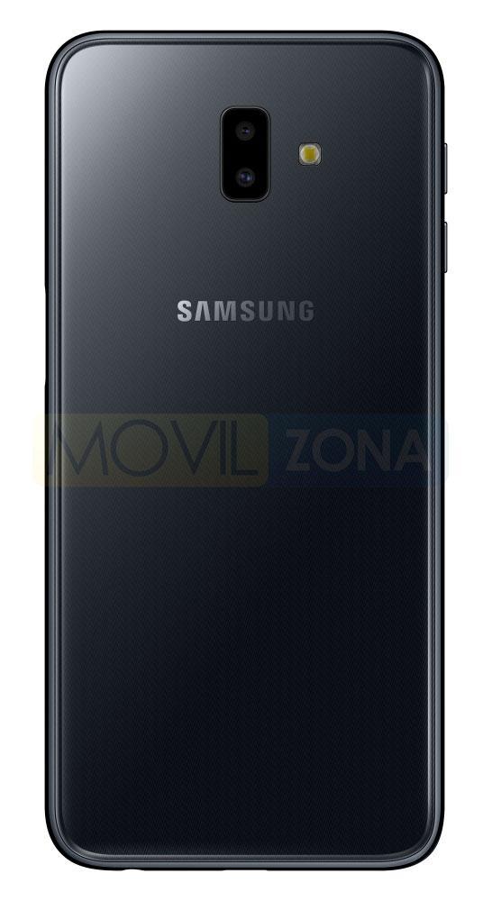 Samsung Galaxy J6+ parte trasera color negro