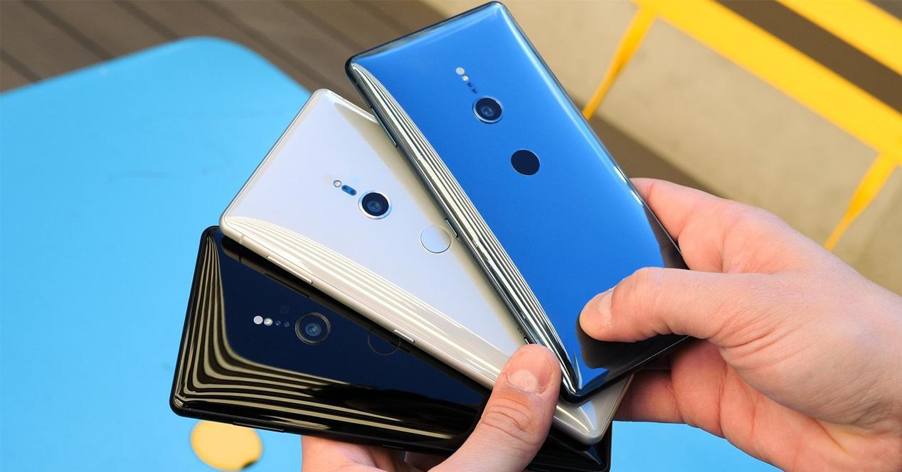 Carcasa trasera del Sony Xperia XZ2 en varios colores