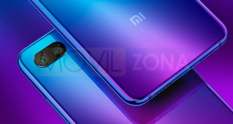 Xiaomi Mi 8 Lite detalle de carcasa