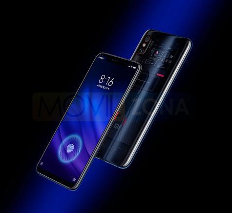 Xiaomi Mi 8 Pro con huella en pantalla