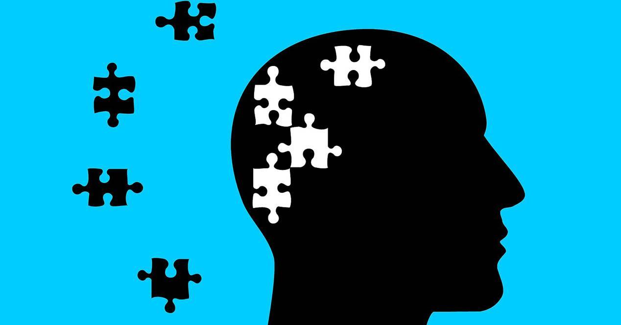 Alzheimer cabeza