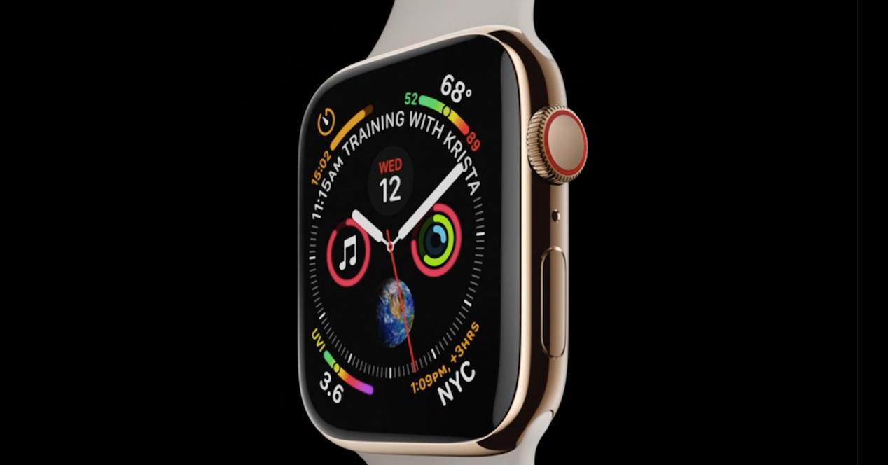 Diseño Apple Watch 4