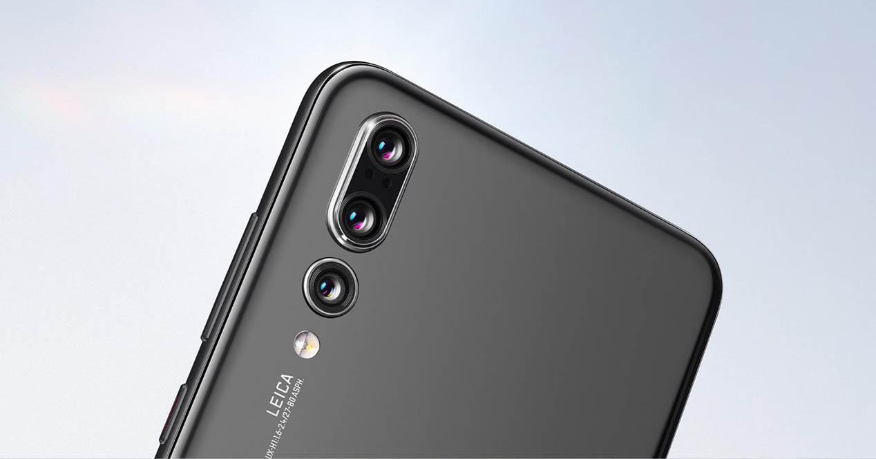 camaras Huawei p20 pro