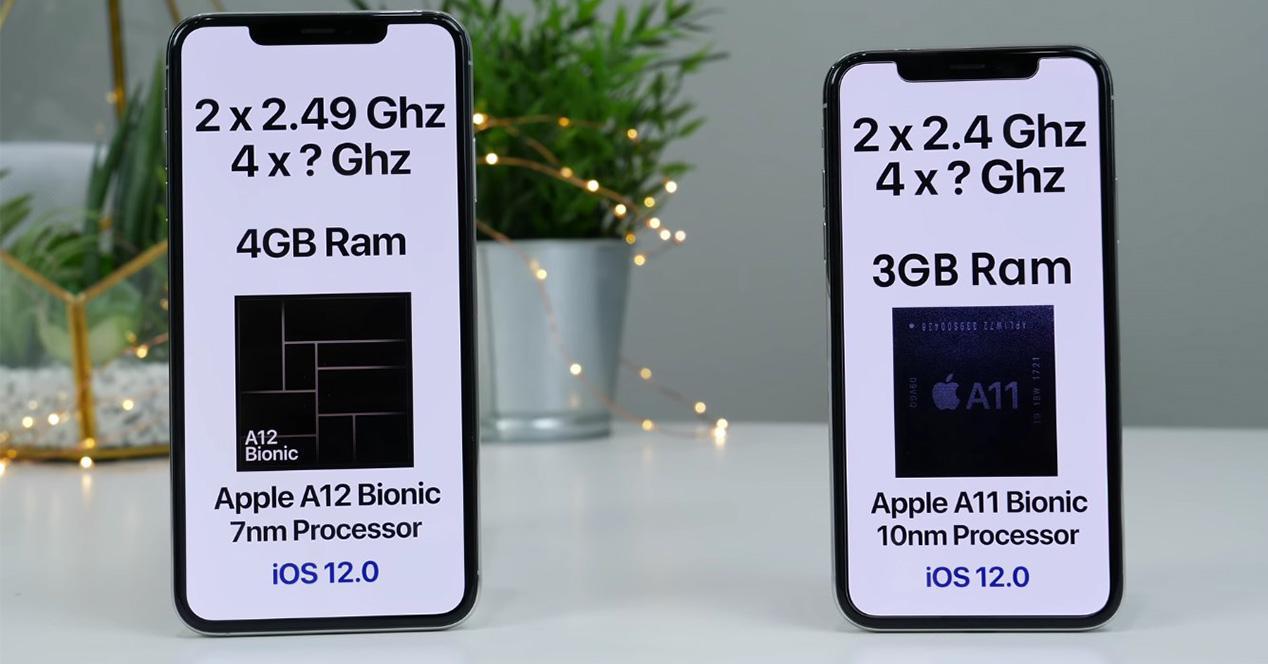 Comparativa iPhone XS Max VS iPhone X