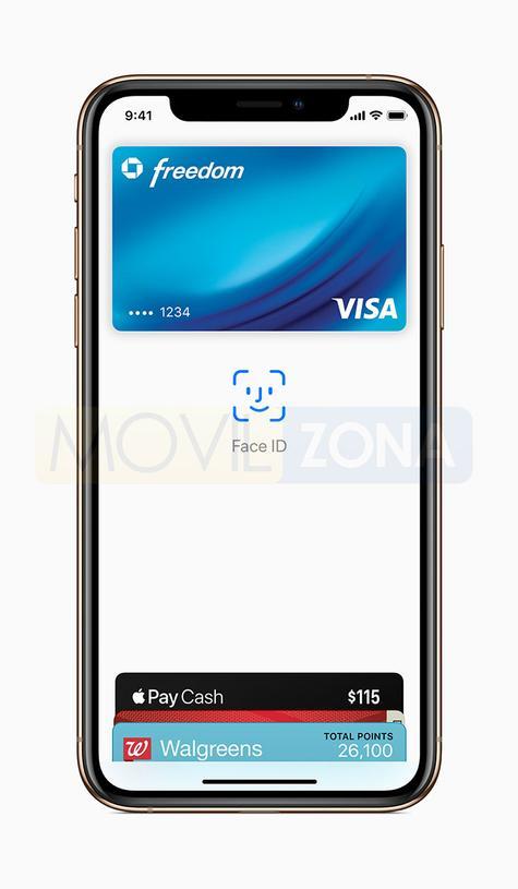 Apple iPhone Xs Visa