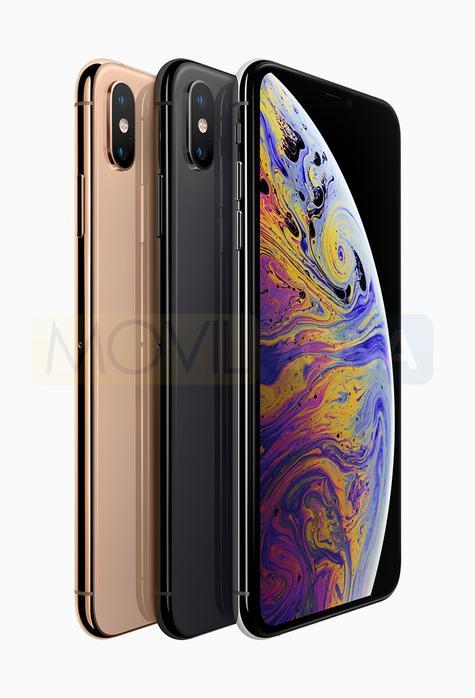 Apple iPhone Xs dorado y negro