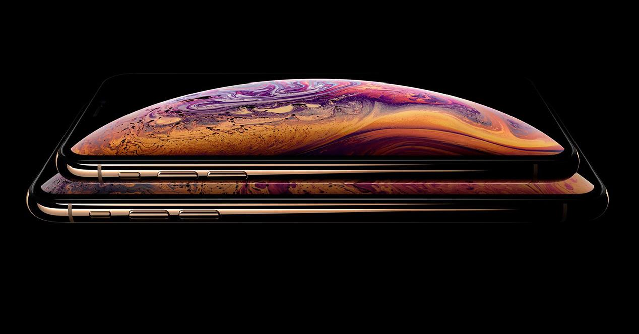 Pantalla de los iPhone Xs y iPhone Xs Max
