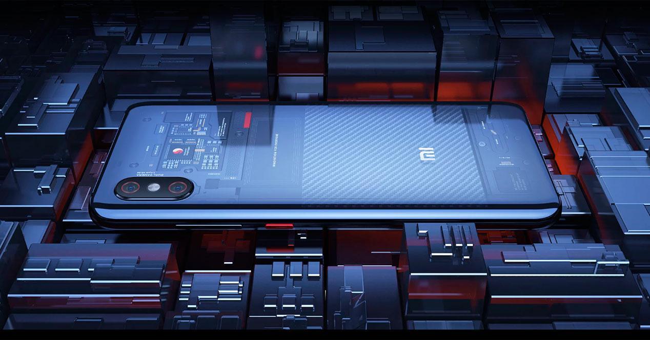versión internacional del Xiaomi Mi 8 Explorer
